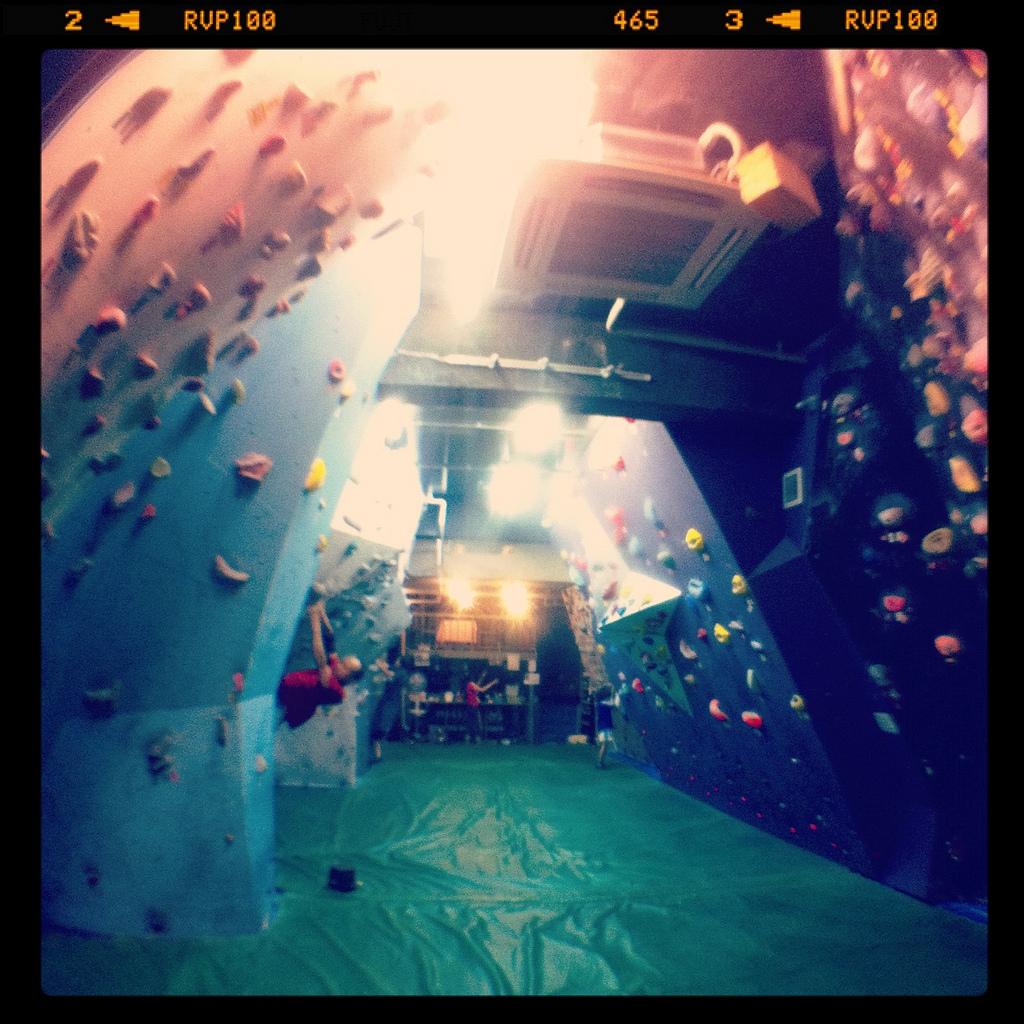 Bouldering Day 9