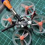 TinyWhoop アンテナ修理、交換の仕方